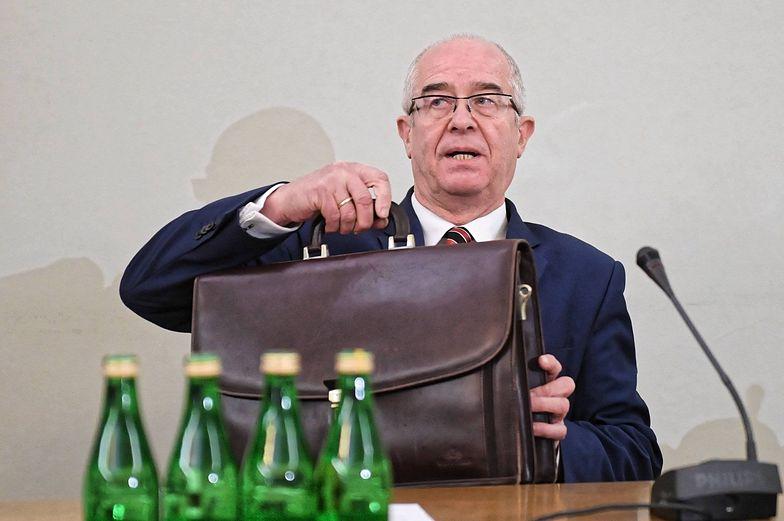 Były prokurator generalny tłumaczył, że linia orzecznicza sądów utrudniała walkę z wyłudzaniem VAT-u