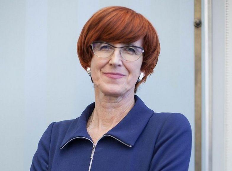 Minister Rafalska z satysfakcją odbiera dane o spadku bierności zawodowej kobiet