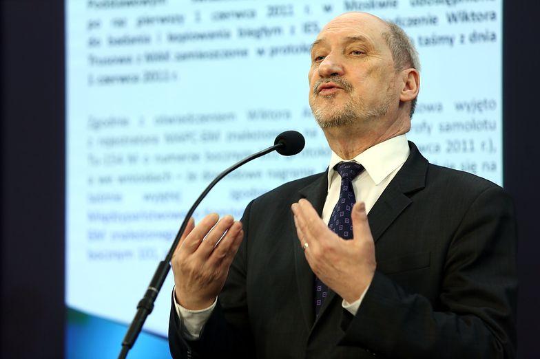 Raport Antoniego Macierewicza pod lupą komisji