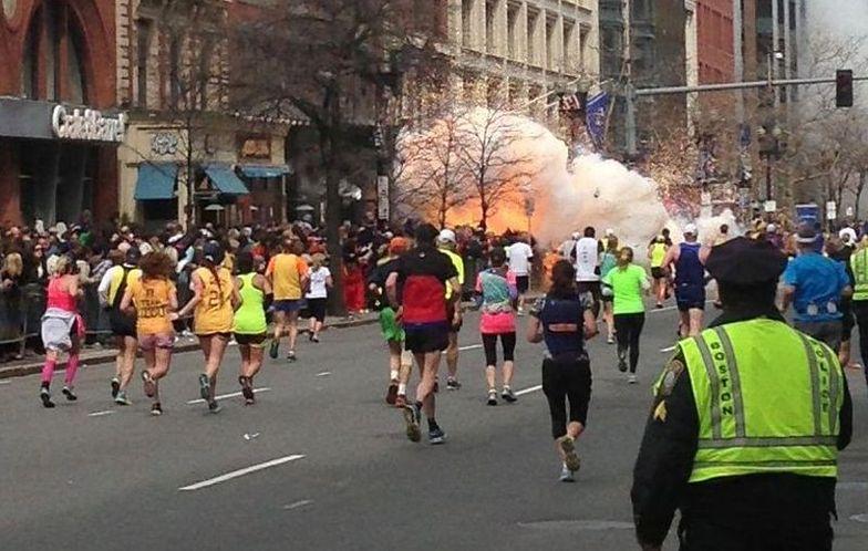 Wybuch w Bostonie podczas maratonu