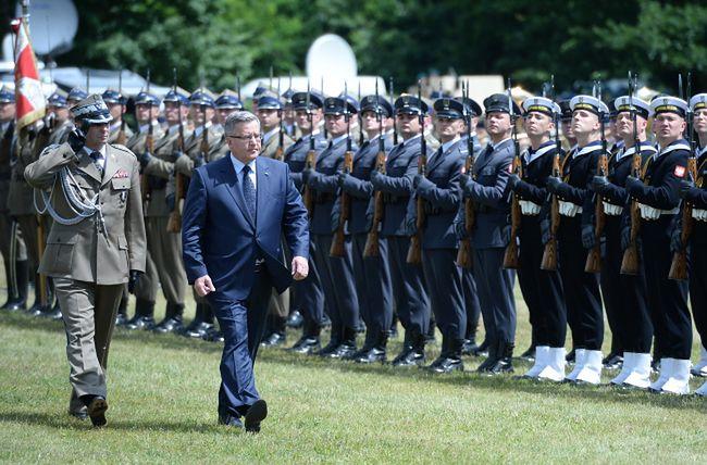 Prezydent mówi o przygotowaniu do obrony