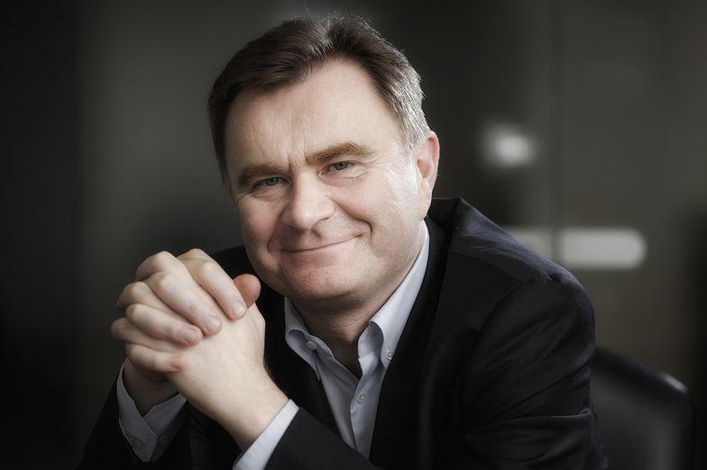 Krzysztof Pawiński, prezes zarządu Maspex Wadowice