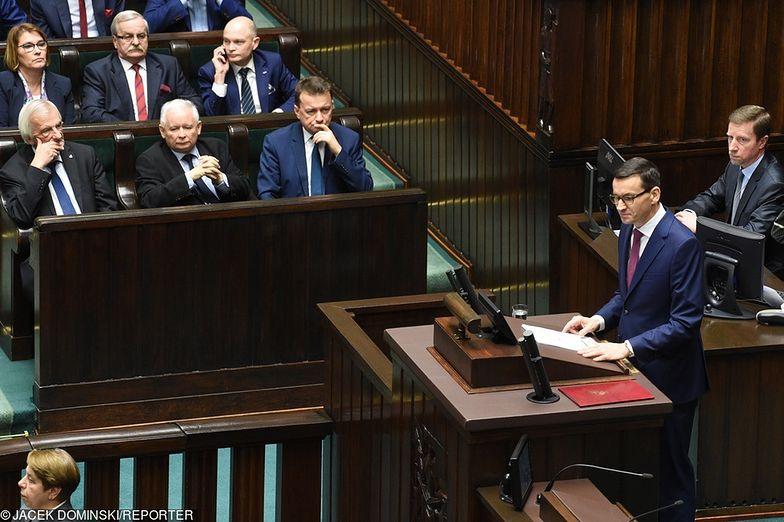Mateusz Morawiecki wygłosił expose 12 grudnia