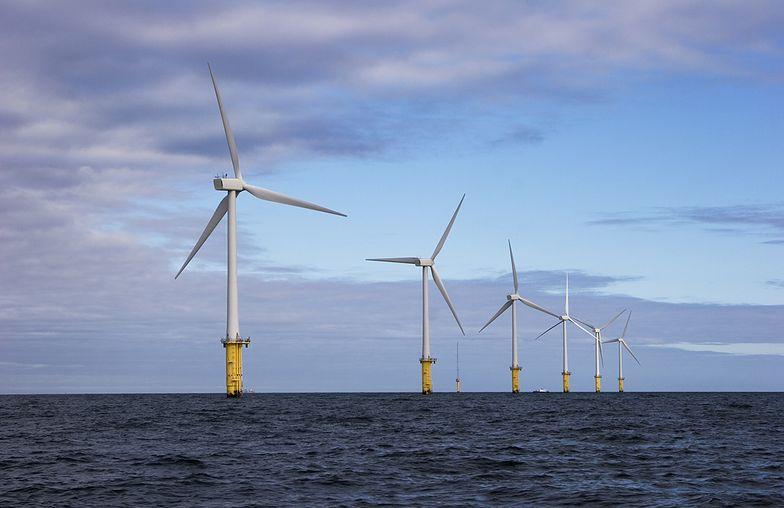 Pierwszy prąd z wiatraków na morzu popłynie w 2025 r. - obiecuje spółka.