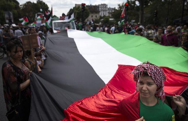 Wojna w Strefie Gazy. Francuzi wyszli na ulice