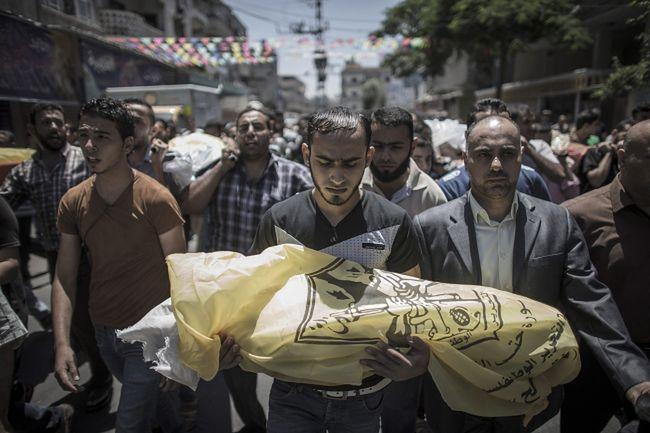 Wojna w Strefie Gazy. Tragiczny bilans walk