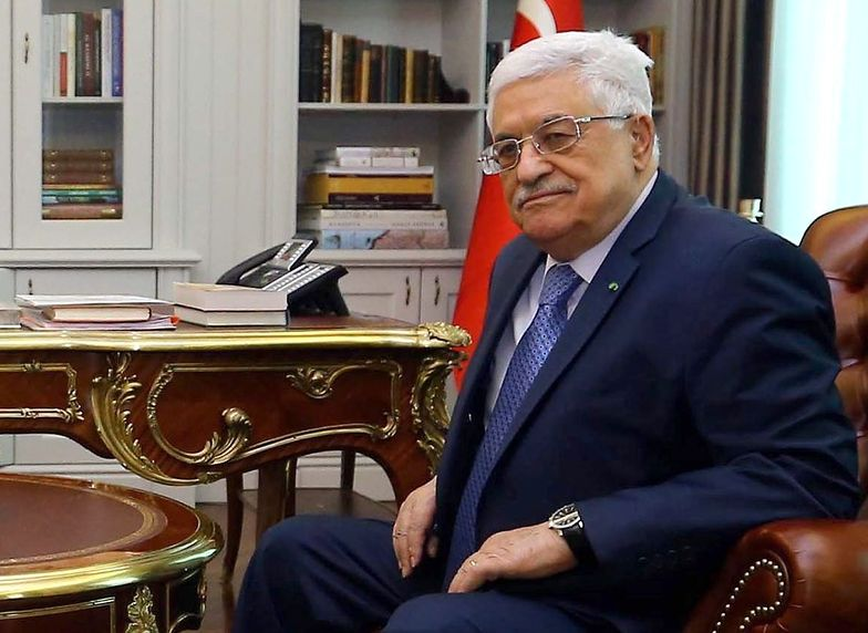 Na zdjęciu prezydent Autonomii Palestyńskiej Mahmud Abbas