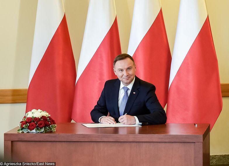 Andrzej Duda podpisał ustawę przewidująca exit tax