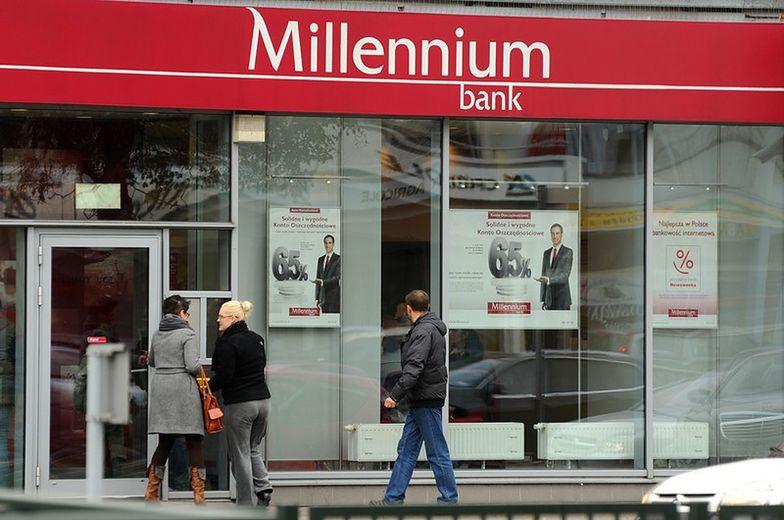 Rekomendacja dla akcji Banku Millennium. Ile warte?