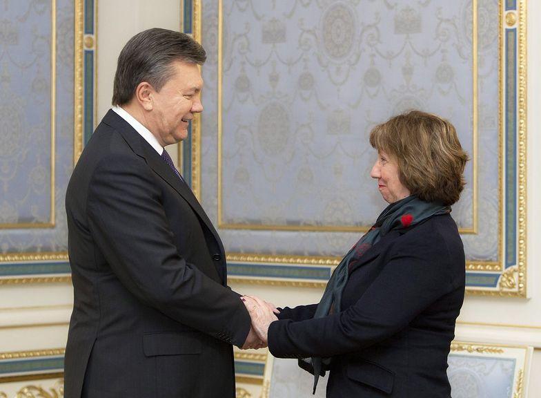 Kryzys polityczny na Ukrainie. Ashton poszła na Majdan