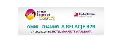 III Forum Sprzedaż & Marketing B2B