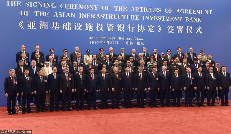 Azjatycki Bank Inwestycji Infrastrukturalnych. Senat za udziałem Polski w utworzeniu AIIB
