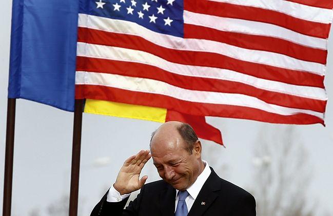 Traian Basescu, prezydent Rumunii na inauguracji