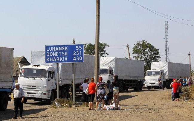 Biały konwój. Wszystkie ciężarówki wróciły z Ukrainy