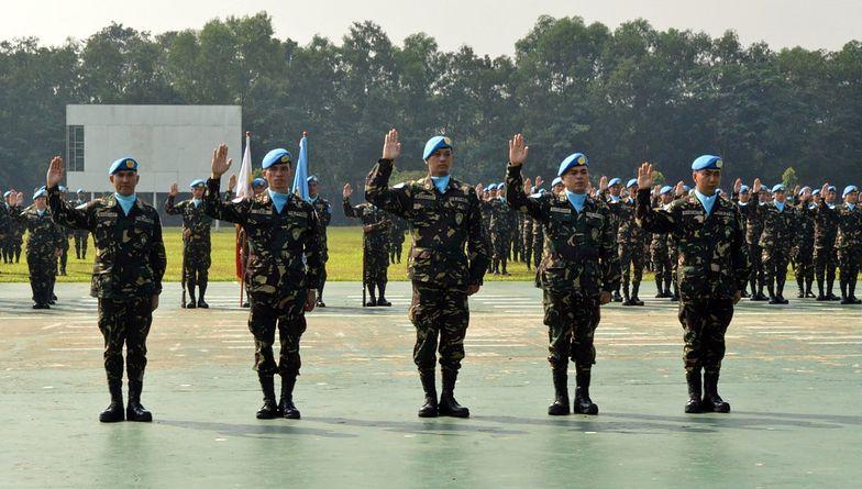 Sytuacja w Syrii. Walki między rebeliantami a filipińskimi żołnierzami ONZ