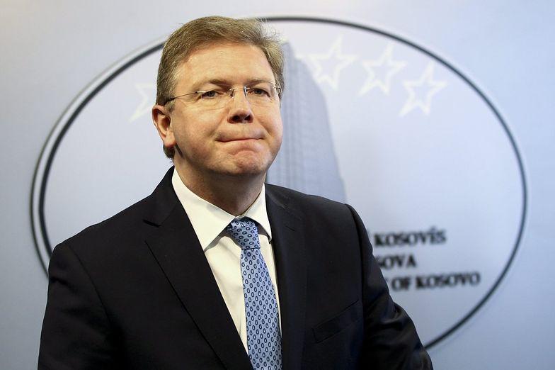 Unijny komisarz do spraw rozszerzenia Stefan Fuele