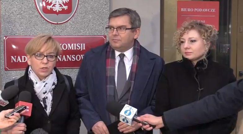 Rzecznik KNF: Posłowie nie mogli dostać informacji w trybie interwencji