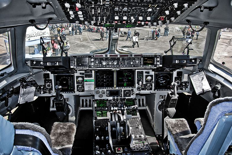 Pierwszy Polak dowódcą ciężkiego samolotu transportowego C-17