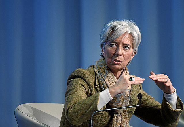 Christine Lagarde stoi na czele Międzynarodowego Funduszu Walutowego.