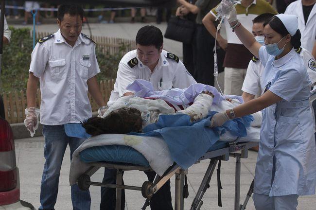 Wybuch w chińskiej fabryce. Rośnie liczba ofiar
