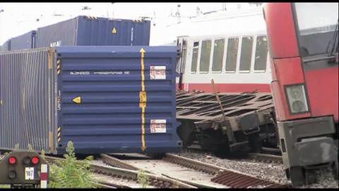 Kilkadziesiąt osób rannych w zderzeniu pociągów na stacji w Mannheim