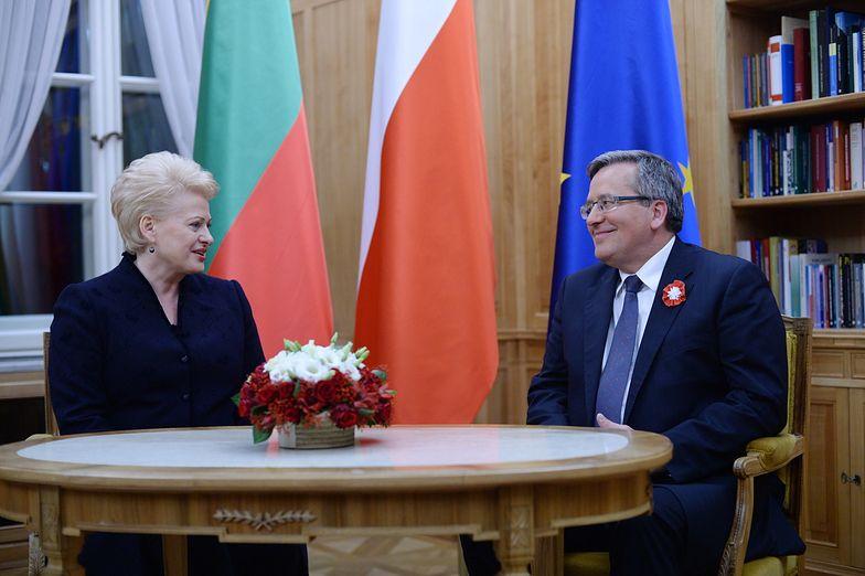 Spotkanie prezydentów Polski i Litwy w Święto Niepodległości
