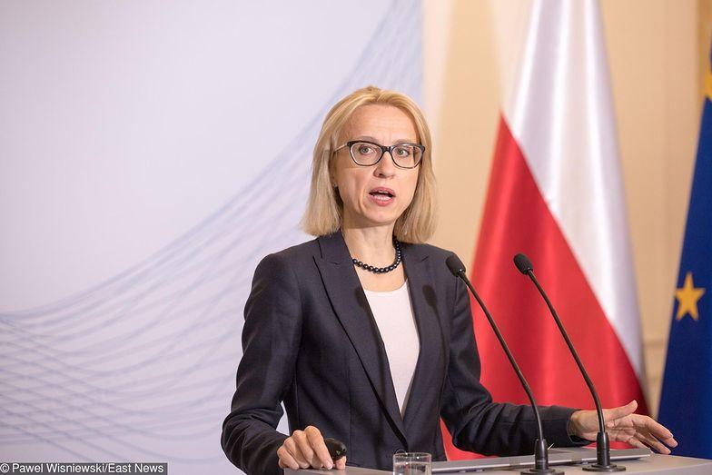 """Resort Teresy Czerwińskiej przekonuje, że obniżki VAT konsument """"nie zauważy""""."""