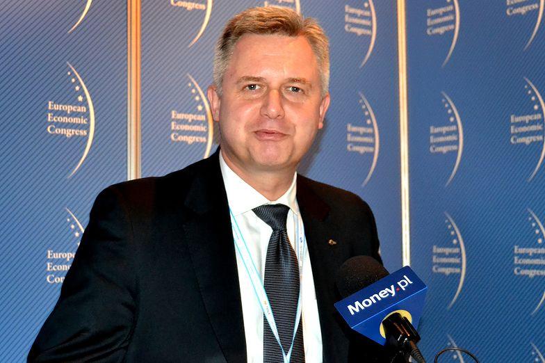 Jarosław Zagórski, prezes <br>Jastrzębskiej Spółki Węglowej
