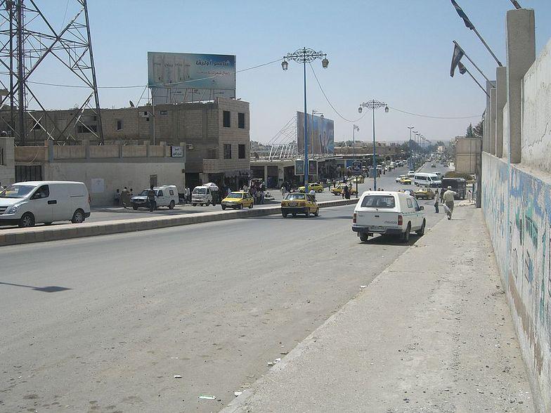 Widok na jedną z głównych ulic miasta