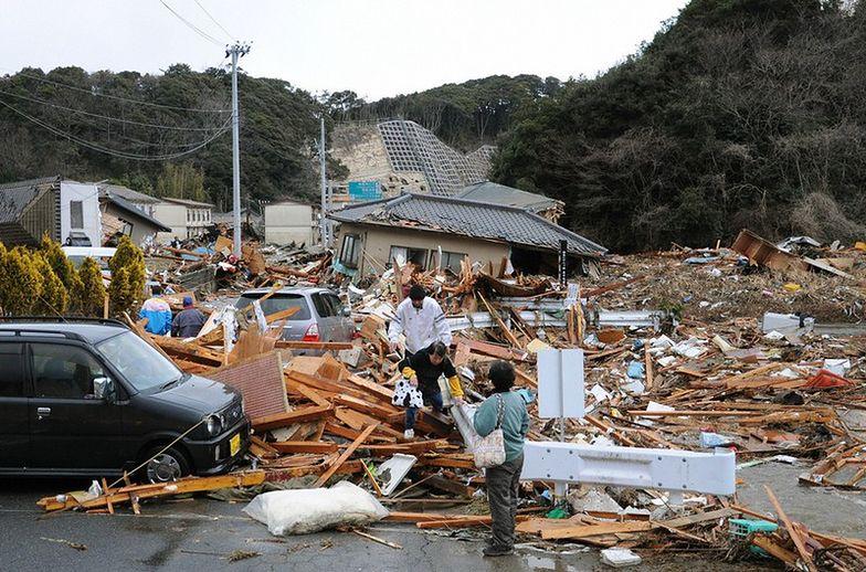 Trzęsienie ziemii w Japonii w marcu br.