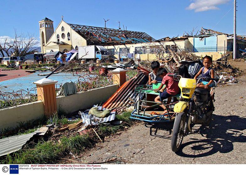 UNICEF alarmuje. Na Filipinach ucierpiało już 4 mln dzieci