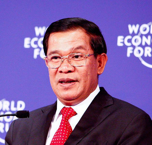 premier Kambodży Hun Sen