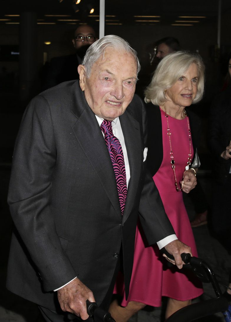Zmarł David Rockefeller - senior rodu miliarderów. Miał 101 lat