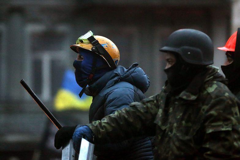 Protesty na Ukrainie. Demonstranci nie opuścili zajętych budynków