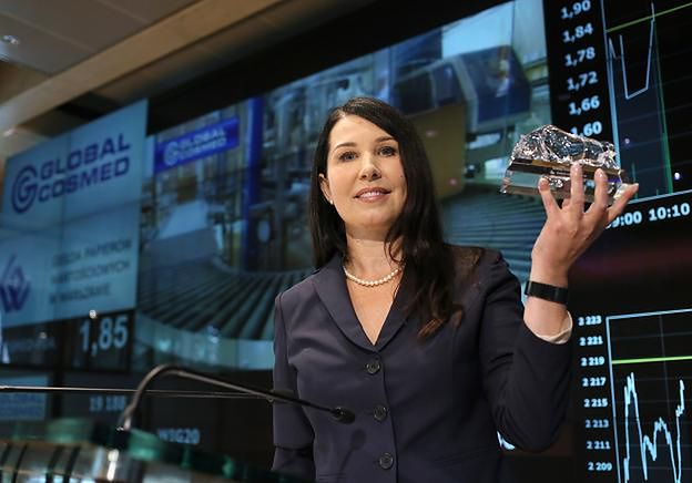 Ewa Wójcikowska, prezes Global Cosmed