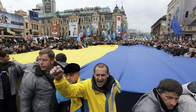 Protesty na Ukrainie. Marsz na parlament pomoże odwołać rząd?