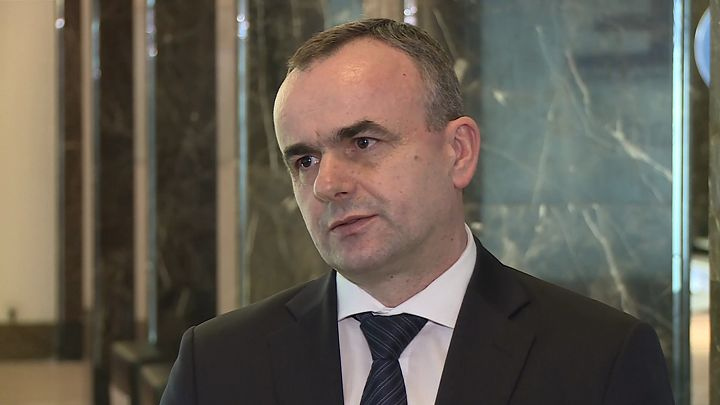 Robert Macias, członek zarządu RWE Renewables.