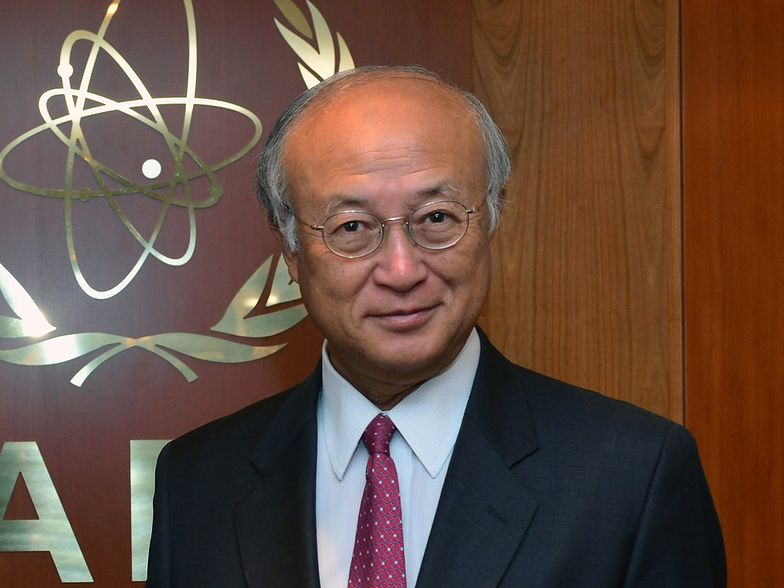 Yukiya Amano, szef MAEA