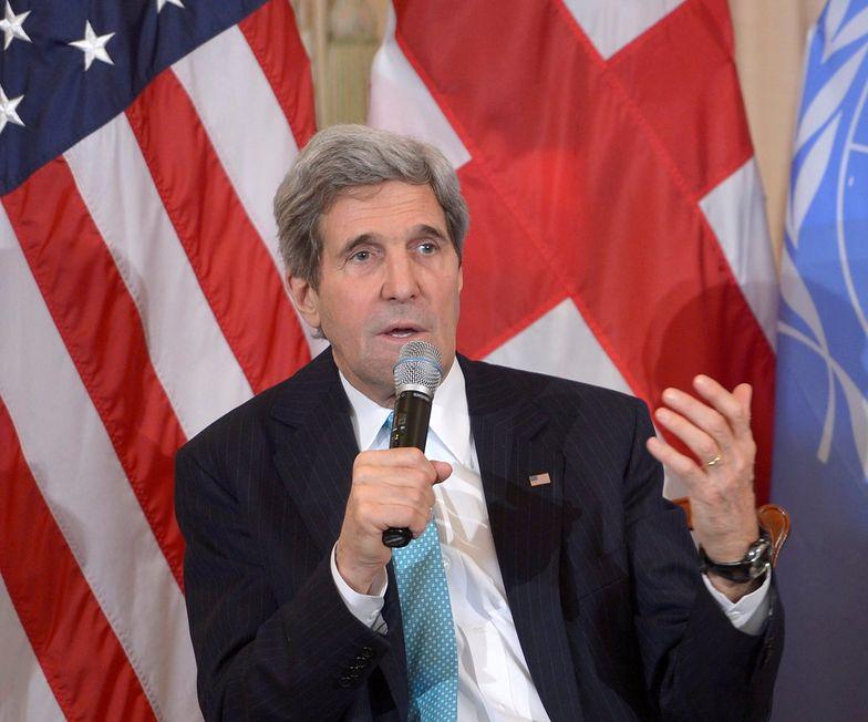 Kerry grozi Rosji poważnymi konsekwencjami w relacjach z USA