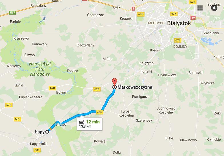 Budowa i rozbudowa drogi wojewódzkiej nr 682 na odcinku Łapy - Markowszczyzna.
