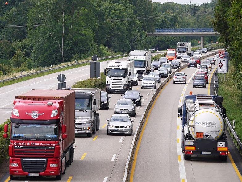Przyszłość infrastruktury transportowej w Europie. Ciężarówki pojadą same