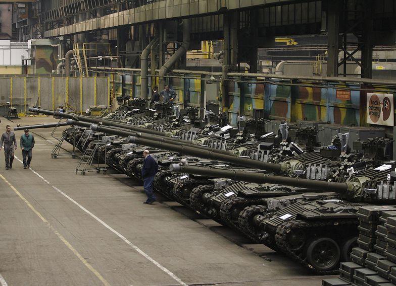 Czołgi PT-91 przygotowane na eksport do Malezji.
