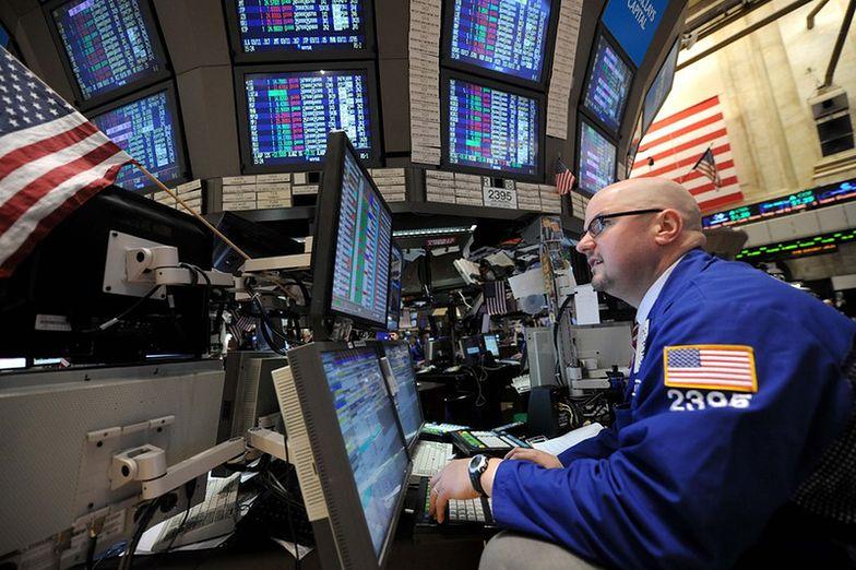 Noworoczne spadki na Wall Street