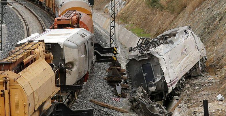 Katastrofa kolejowa w Hiszpanii. Maszynista rozmawiał przez telefon