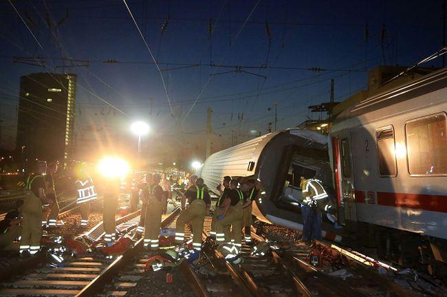 Kolizja pociągów w Mannheim. Wielu rannych
