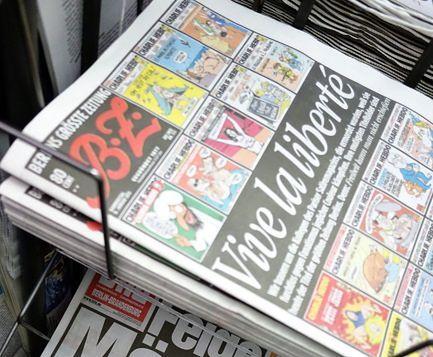 Niemcy masowo publikują karykatury Mahometa