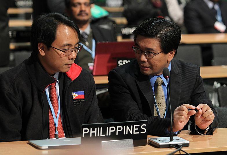 Dramatyczny apel przedstawiciela Filipin na szczycie klimatycznym