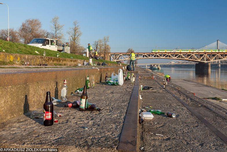 Od 9 maja nie wolno pić już na bulwarach i plażach