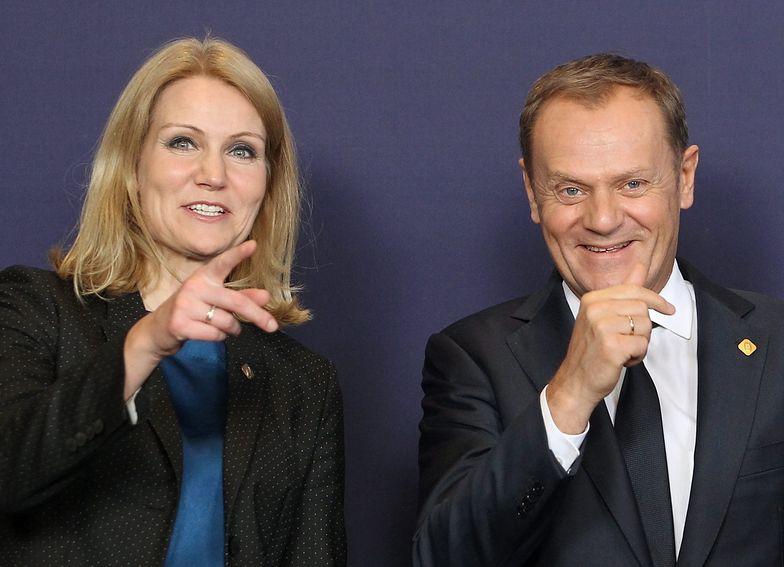 Donald Tusk i Helle Thorning-Schmidt