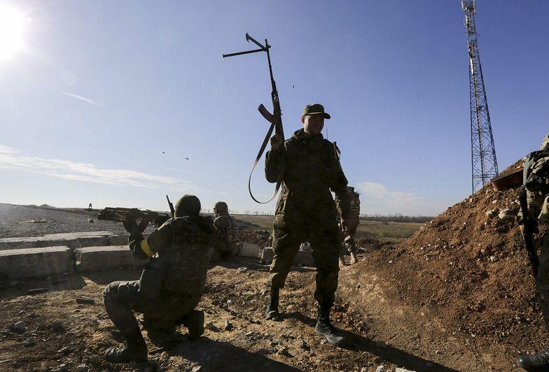Wojna na Ukrainie. Separatyści wciąż ostrzeliwują rządowe pozycje